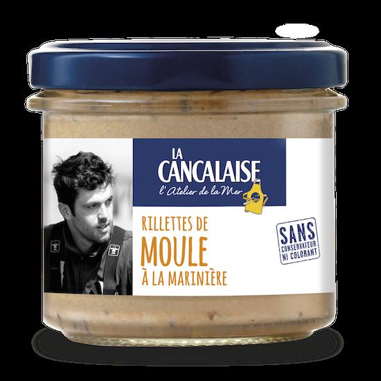 Rillette de Moule Marinière - La Cancalaise