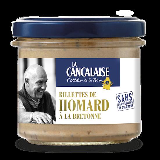 La Cancalaise - Rillettes de homard à la bretonne 100g