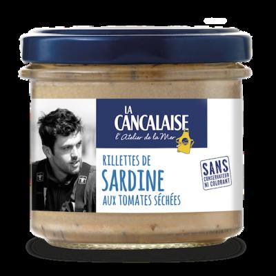 Rillettes de sardine aux tomates séchées