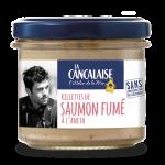 Rillette de saumon fumé à l'Aneth - La Cancalaise