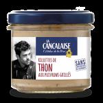 Rillettes de Thon aux poivrons grillés - La Cancalaise