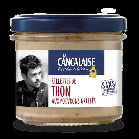 rillettes de thon aux poivrons grillés