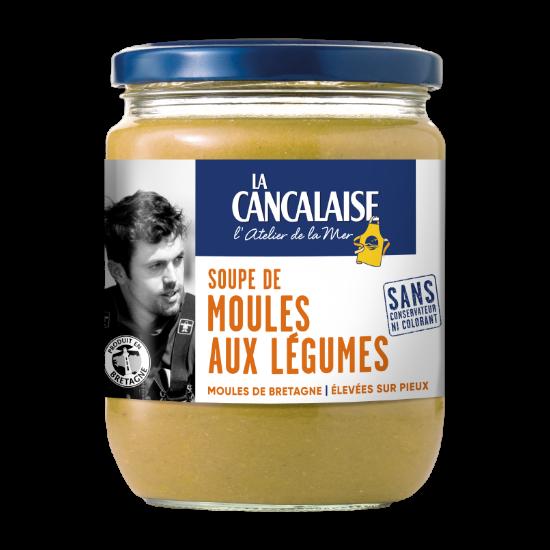 La Cancalaise - Soupe de moules aux légumes - 380g