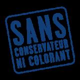 Sans conservateur sans colorant