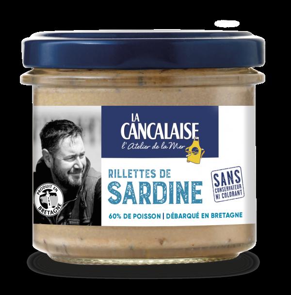 rillettes de sardine la cancalaise