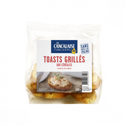 La Cancalaise - toasts grillés