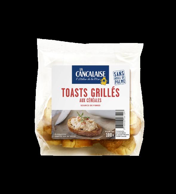 La Cancalaise - toasts grillés