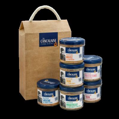 La Cancalaise - Coffret 6 Rillettes aromatisées