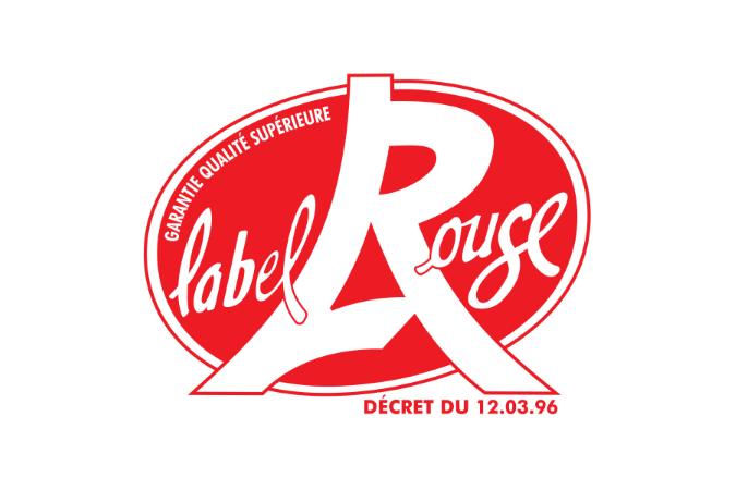 Logo Label Rouge - La Cancalaise